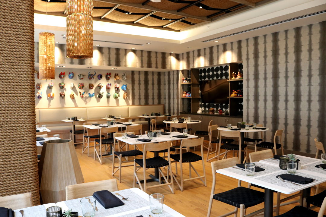 Xochi is now open at the marriott marquis houstonia for W austin in room dining menu