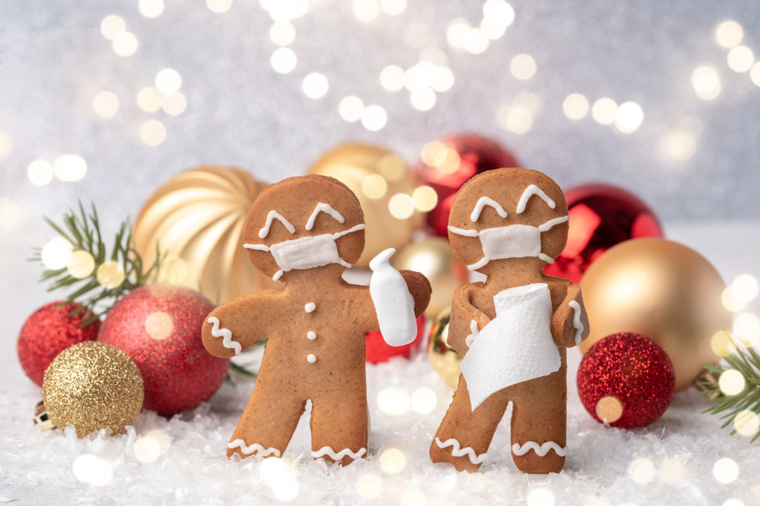 Covid gingerbread men
