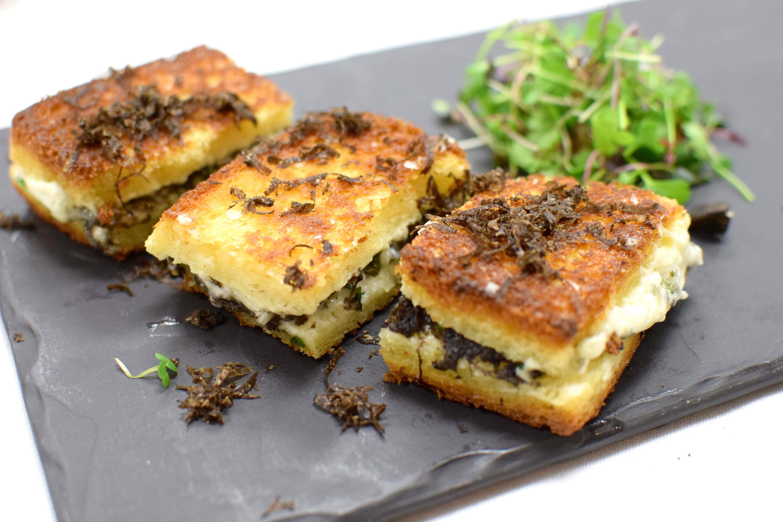 Winner   truffle grilled  cheese cu3bnu