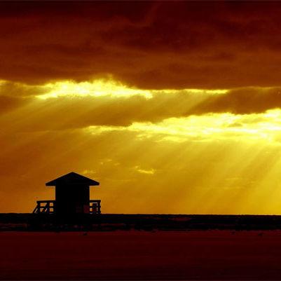 Siesta key sunset shadows by spangles44 kmyu3q
