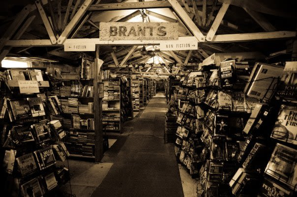 Brant's in its first location, a former Army barracks.