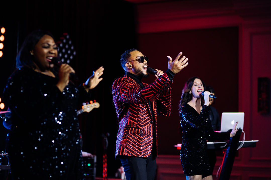 The Royals perform at The Ritz-Carlton, Sarasota, during the fourth annual Hospital Gala, which was livestreamed to guests.
