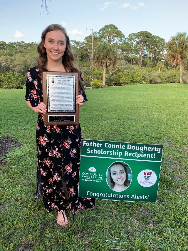 Scholarship recipient Alexis Coleman
