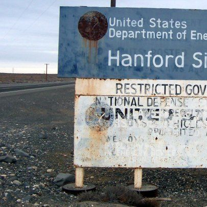 Hanford site sign evv8vy