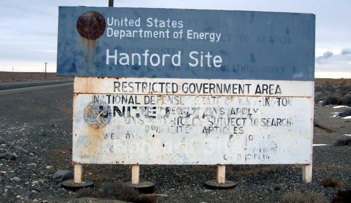 Hanford site sign evv8vy