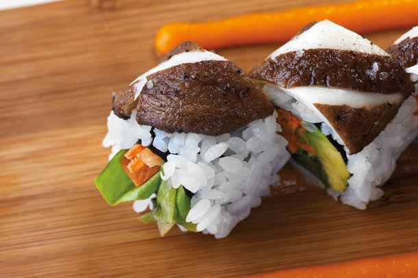 1112 departure grilled shiitake roll cvaf3y