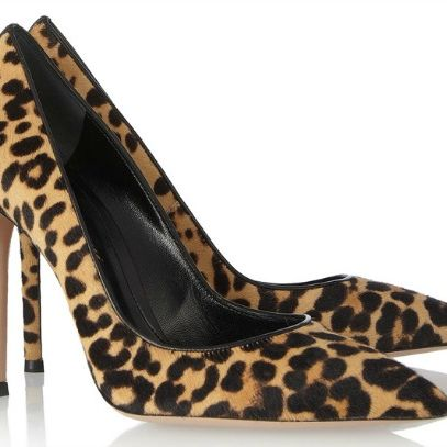 Gianvito rossi leopard print calf hair pumps agdpfy
