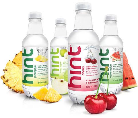 Hint fruit infused water yaowki
