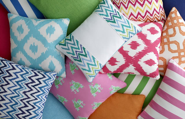Lilly pulitzer lee jofa fabric outdoor pillows rd4jnw