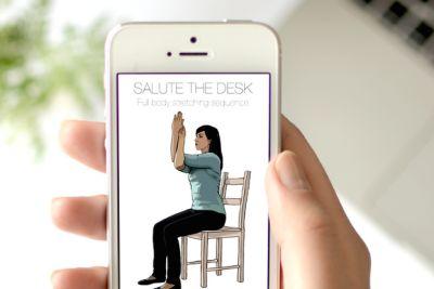 Salute the desk gn6cnu