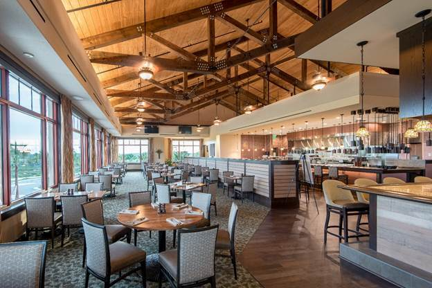 Golf club dining facility places second in national ranking sarasota magazine for Interior designers lakewood ranch fl