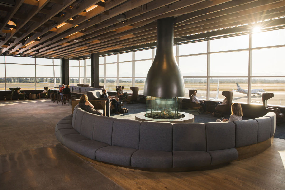 Just Landed: A New Alaska Airlines Lounge at Sea-Tac