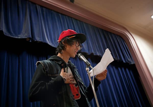 Tenzin dawa poetry performance wqewme