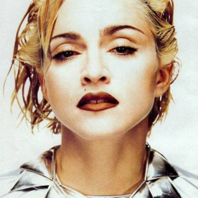 Madonna modelling for jean paul gaultier the what she wears in the blond ambition tour blond ambition era 28756987 422 600 ohopno