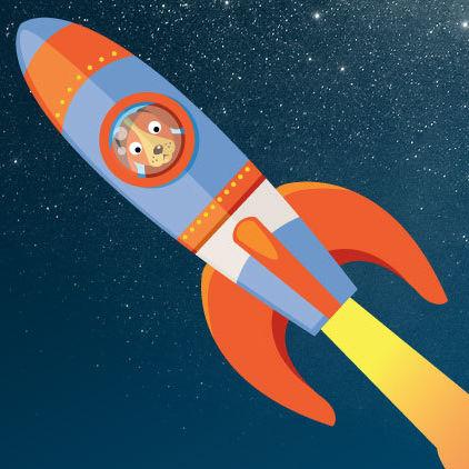 1214 ice house dog rocket ycpcl0