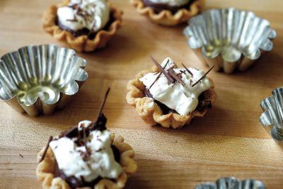 Chocolate pie sliders x4sqju