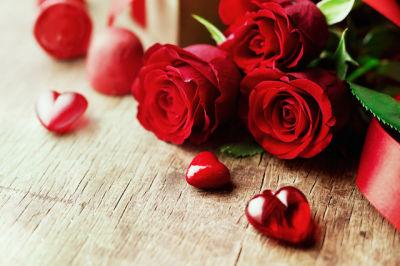 Valentines roses ct58en