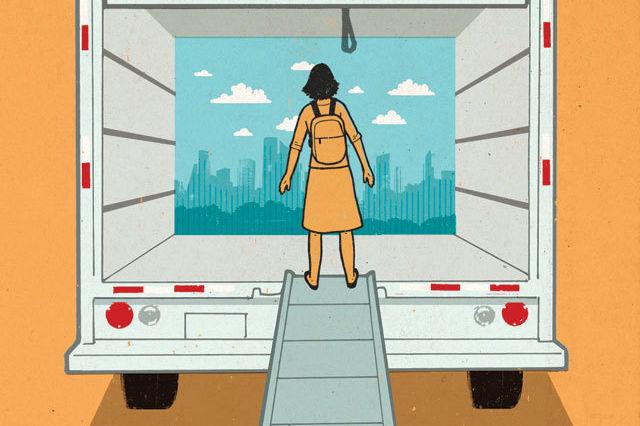 The Moving Story of a Houston Nomad | Houstonia