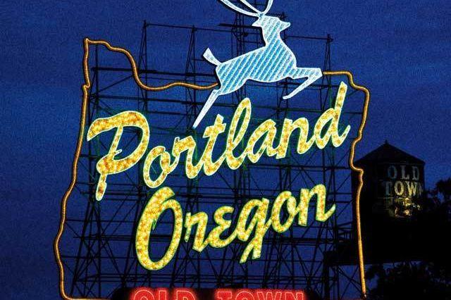 White stag portland oregon neon sign wycu5w