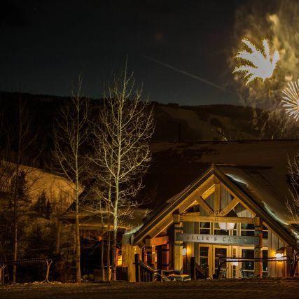 Ext fireworks allies cabin night aday 1.16.14 bwpglw veej48