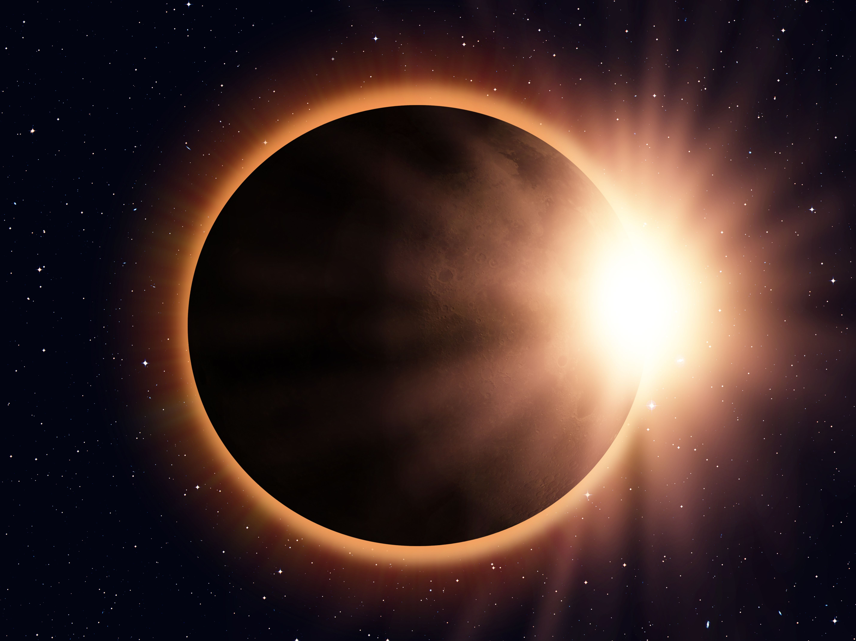 Solar eclipse uvguwd