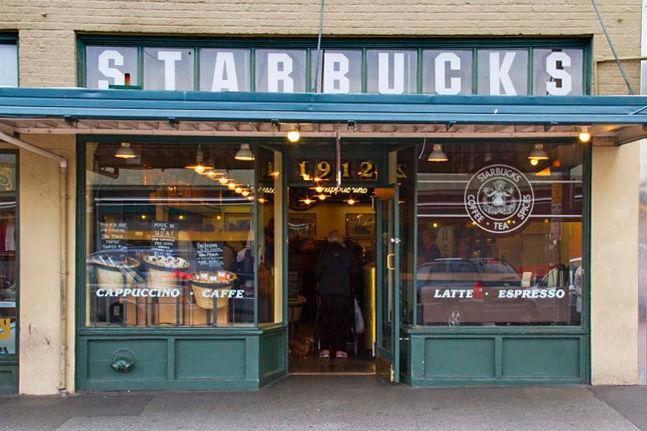 Starbucks At Pike Place Market Restaurants Seattle Met