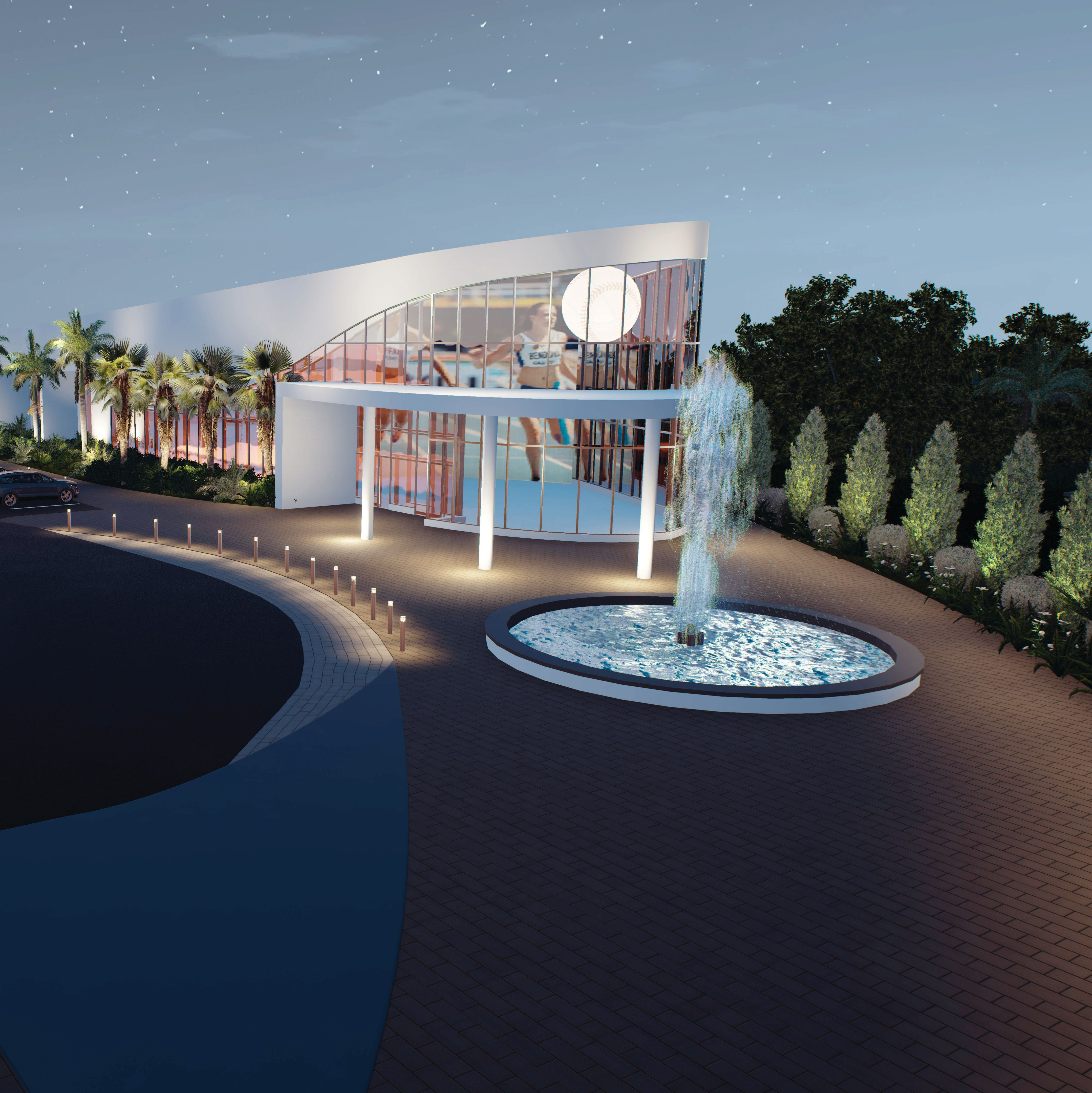 Women s sports museum rendering by hoyt architects tc3zas