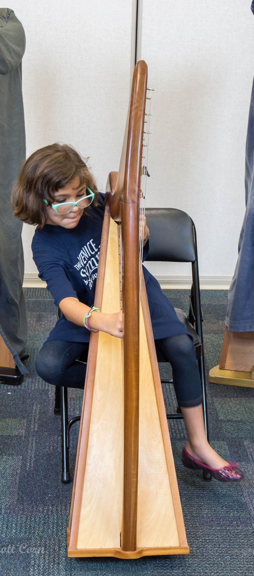 Harp girl  uozizy