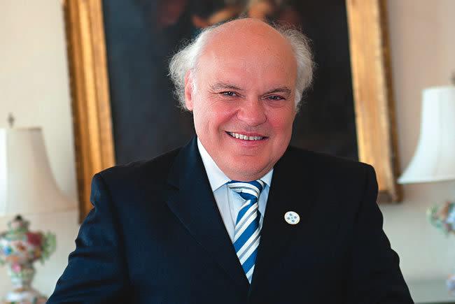 New College president Donal O'Shea