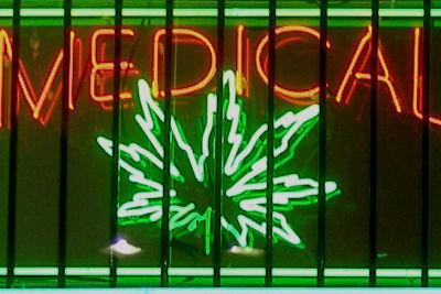 Medical marijuana sign ltbdtk