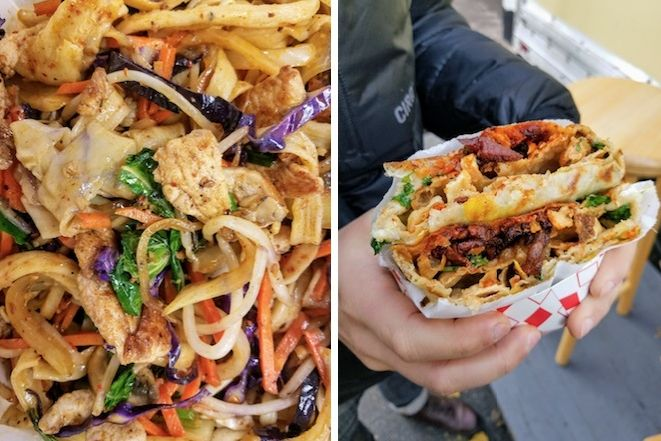 Eat Spicy Hand Pulled Chinese Noodles At This Downtown Food Cart