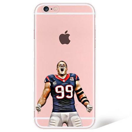 Jj watt phone case no6ksv