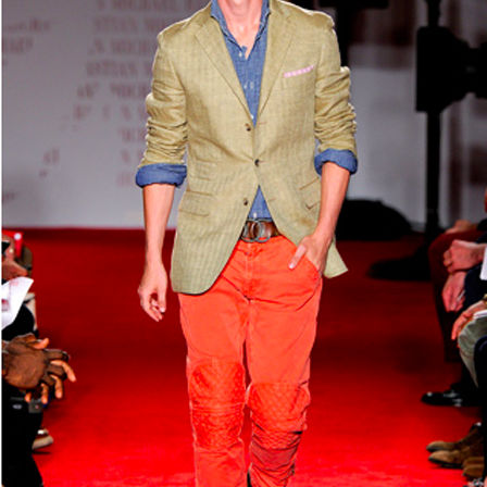 Michael bastian color pants nvi0fp