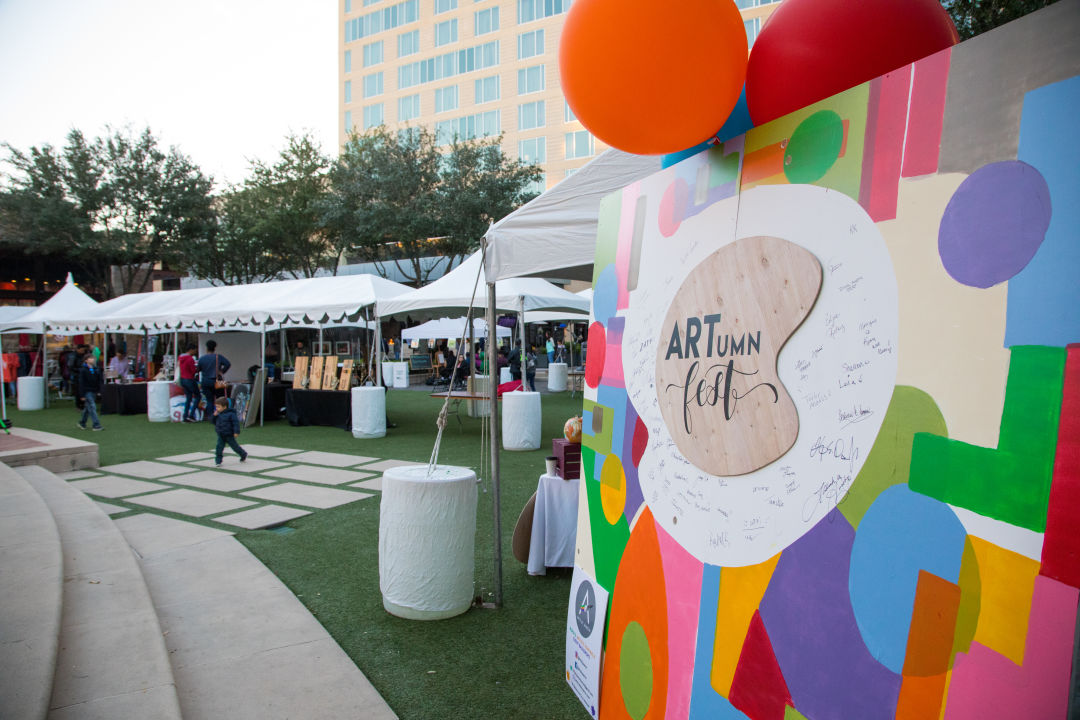 ARTumn Festival at CITYCENTRE in Houston