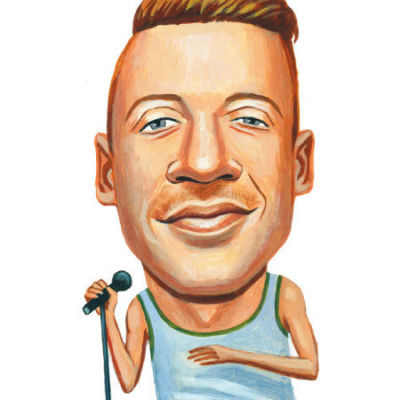 Macklemore illustration seattle met magazine ouo6kz