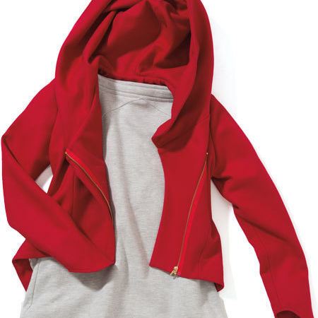 Sarsen red wool jacket eejrm1