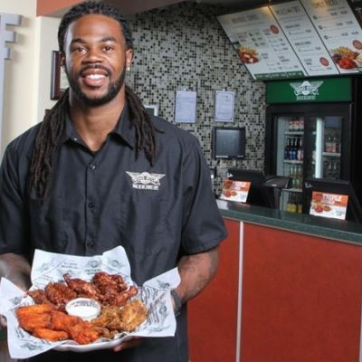 Seattle seahawks wide receiver sidney rice takes off with wingstop kqdmyf