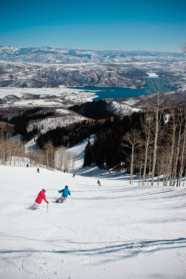 Park city winter 2013 rundown bald eagle mountain skiiers lnrdgx