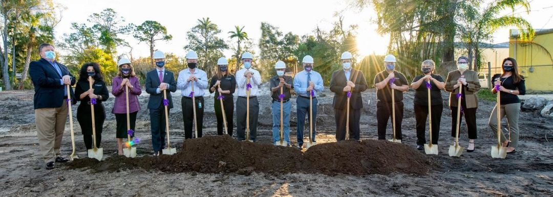 Florida Cancer Specialists celebrates the beginning of construction for a new office in Bradenton.