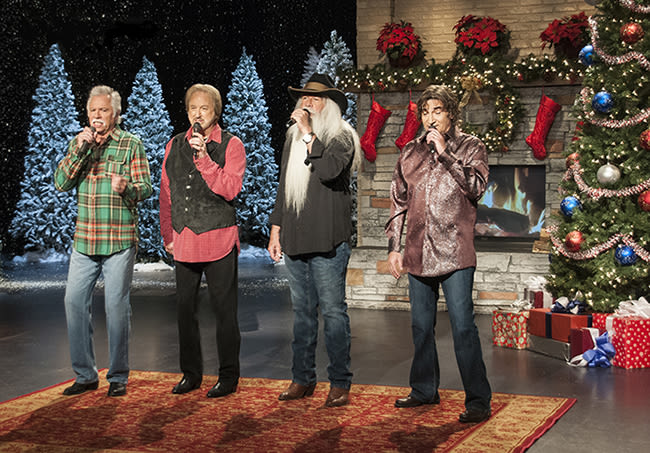 Oak ridge boys chtistmas tv credit jon mir hjnisv