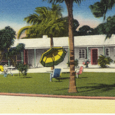 Holiday motel  north trail  sarasota pm93hh
