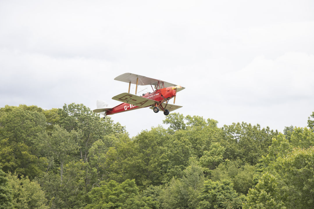 An old-fashioned air show at the Old Rhinebeck Aerodrome in Red Hook