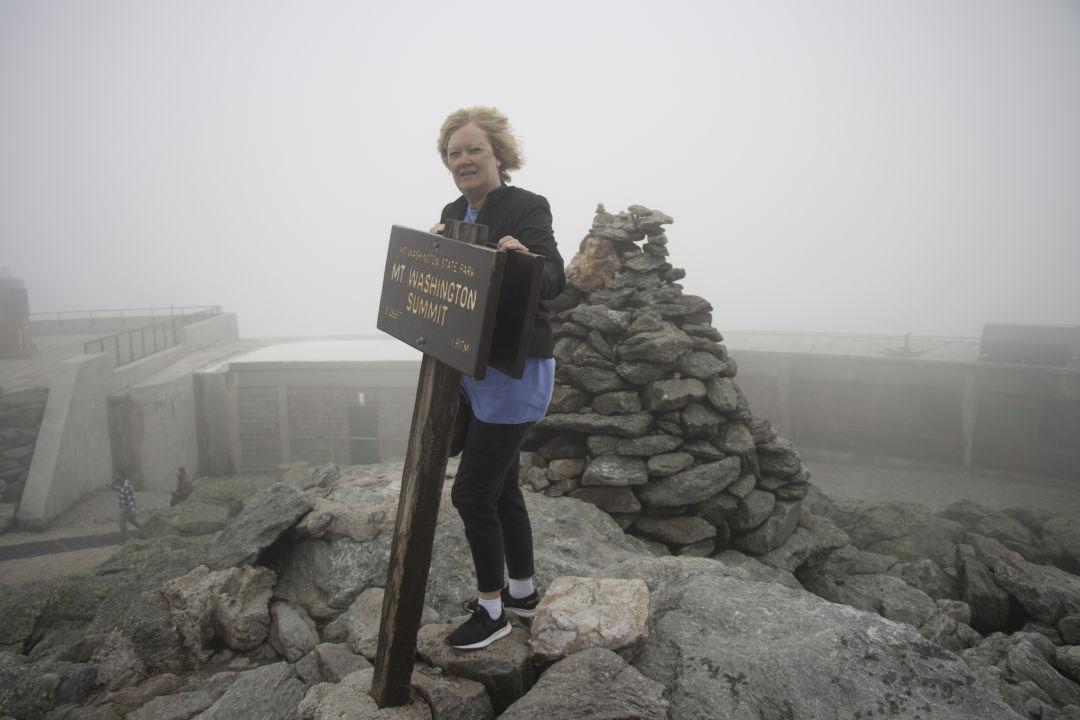I climbed Mount Washington!