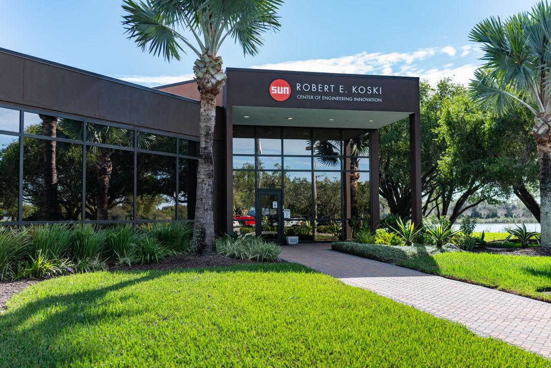 Sun Hydraulics' new Robert E. Koski Center of Engineering Innovation