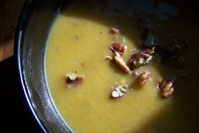 Roasted butternut squash soup fncrra