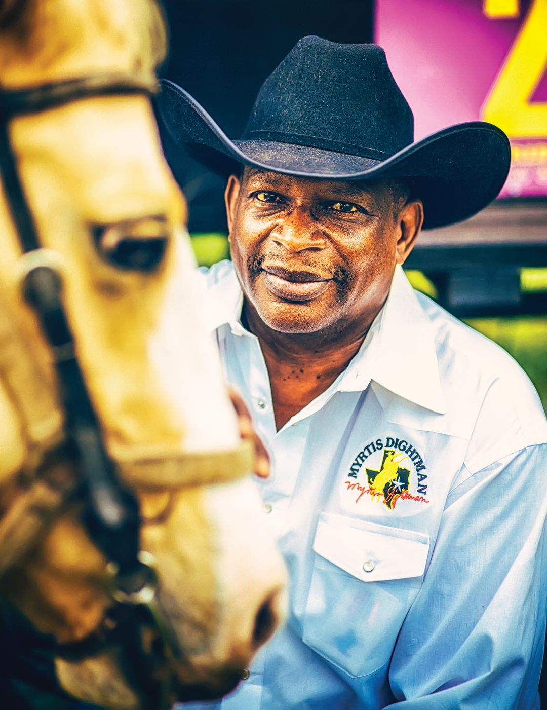 Bayougraphy profile myrtis dightman trail rider rodeo houston spchiu