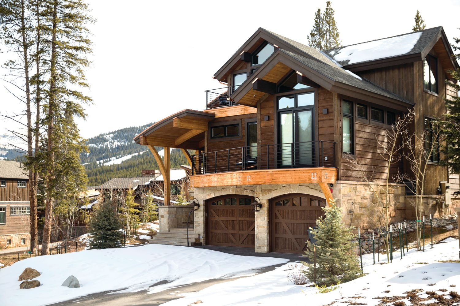 A Peek Inside a Copper Mountain Slopeside Retreat | Colorado