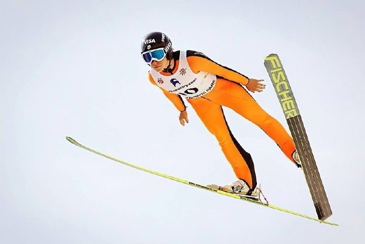 Sochi winter olympics ski jumping nordic combined qualifiers in park city v2ago5