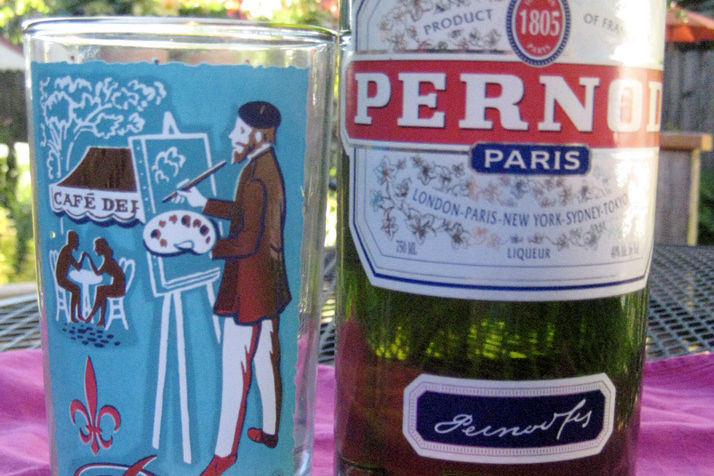 Paris glass pernod fxwo8c