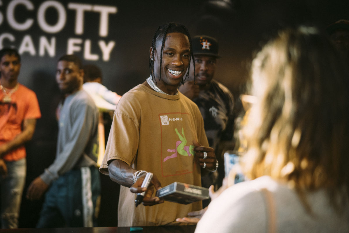 Travis Scott Surprises Fans with a Netflix Documentary—and a Houston Pop-Up